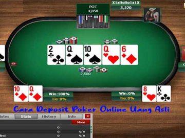 Cara Withdraw Poker Online Uang Asli Indonesia